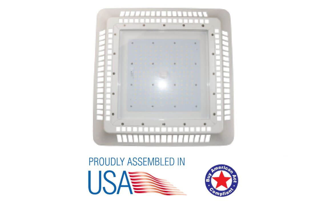 led canopy light type-b