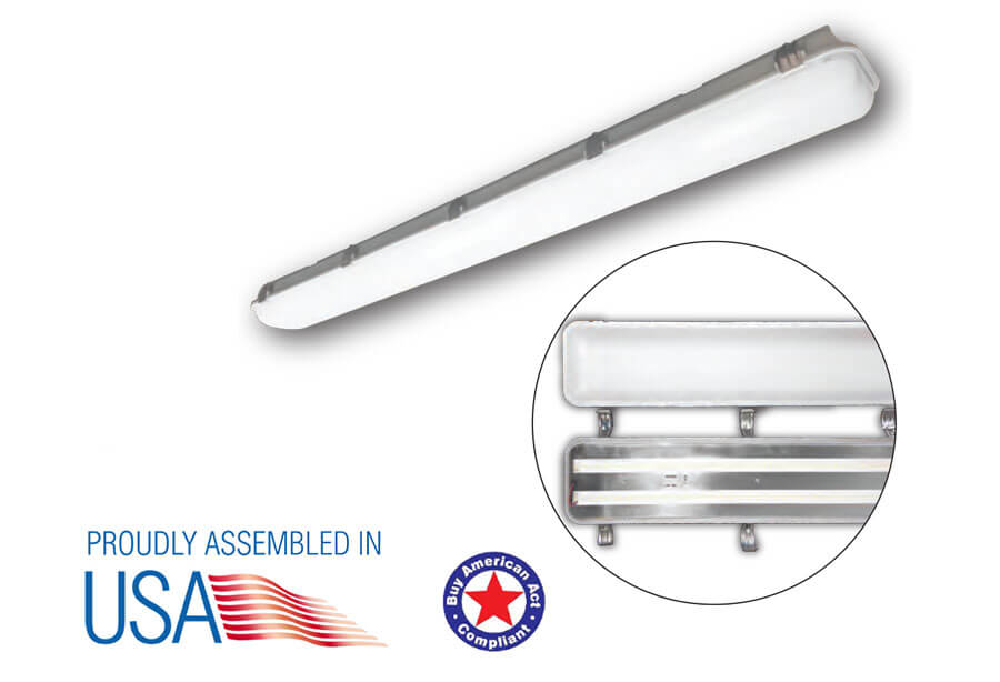 LED-VAPOR-TIGHT linear fixture