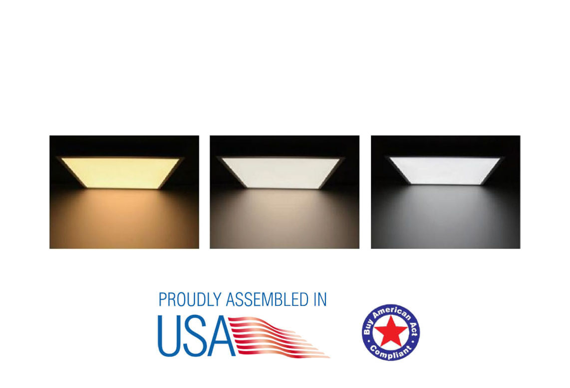 LED PANEL LIGHT (CCT AND POWER CHANGEABLE)   Patriot LED