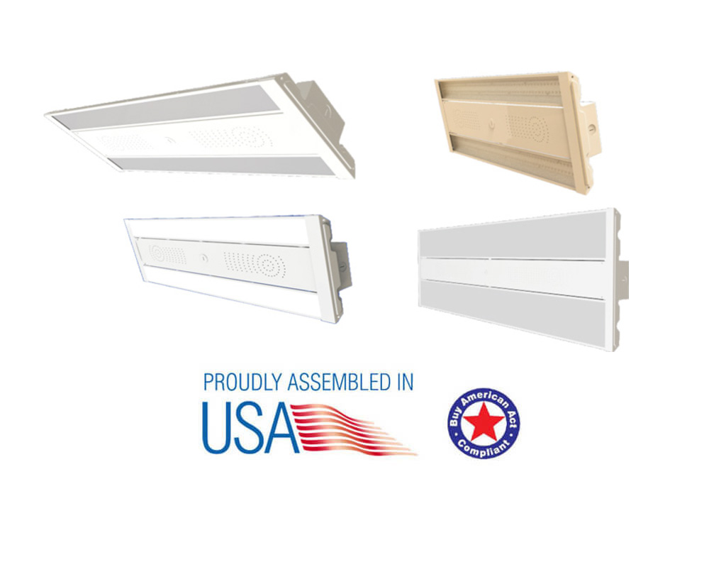 led slim linear high bay