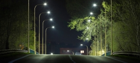 Secure Your Business Through Smart LED Streetlights